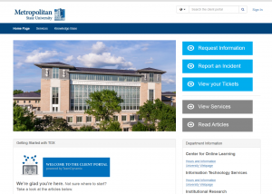 Metro State IT launches new customer service portal