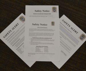 Indecent exposure reveals lack of student safety alerts