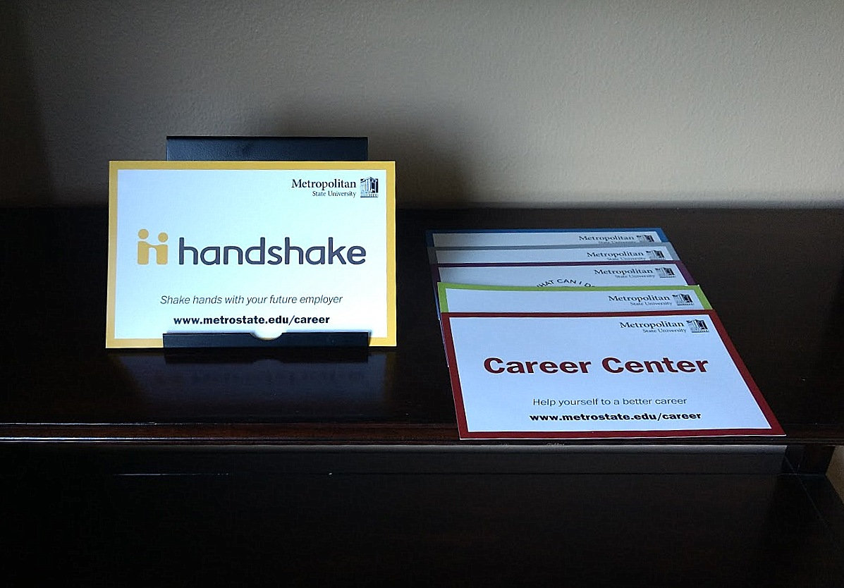 Career Center wants students to head to Handshake