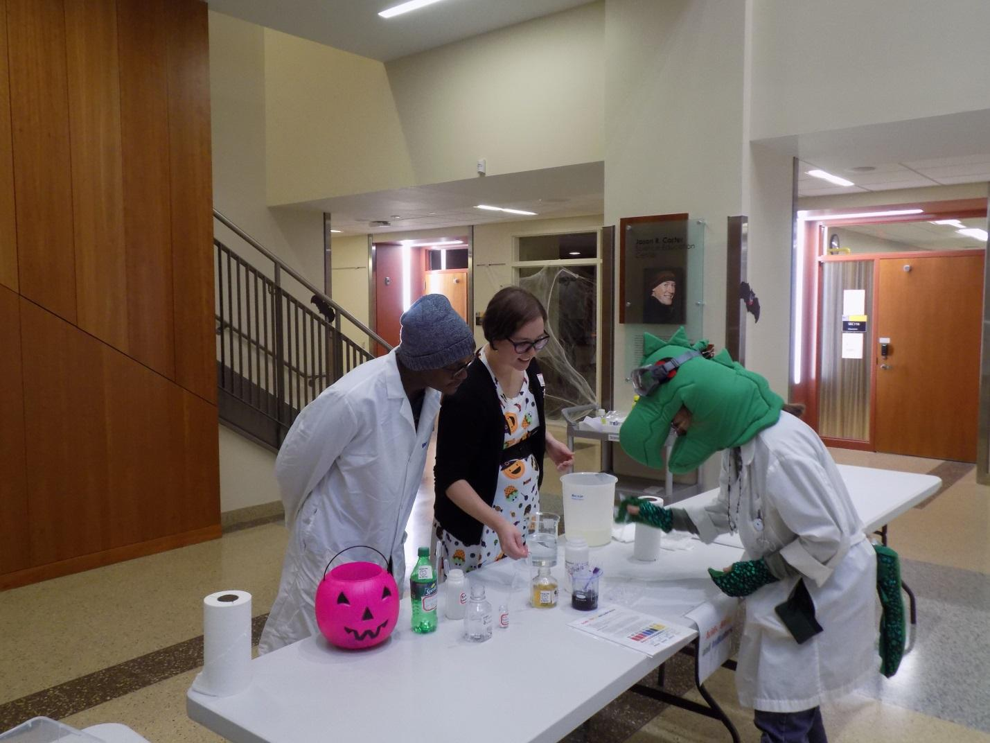 Scares, spooks and skeletons at Metro State's scientific Halloween