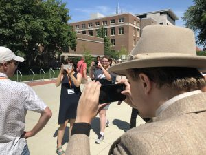 The Metropolitan mingles with journalists at the College Media Mega Workshop