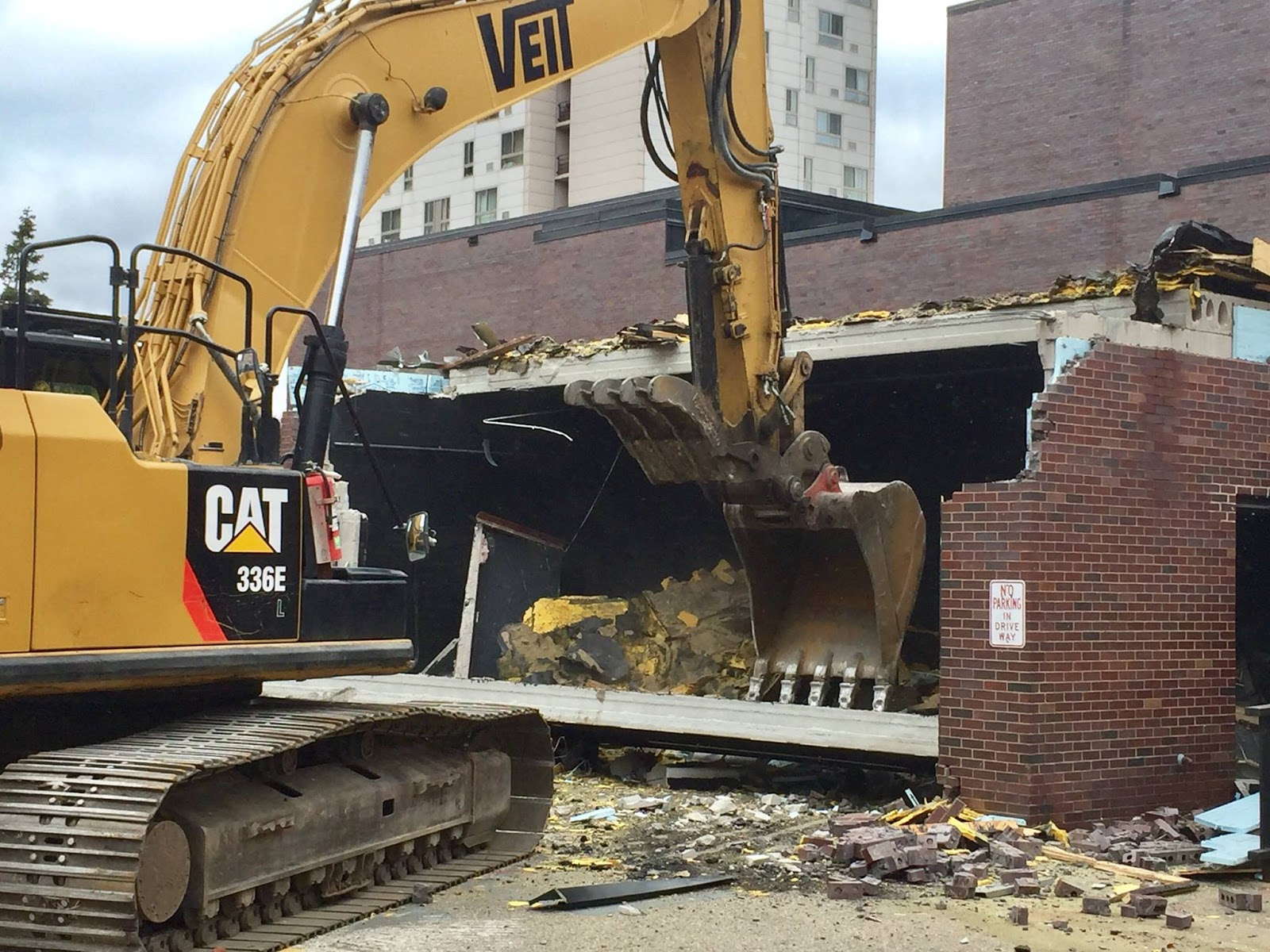 Black box bulldozed, condos coming