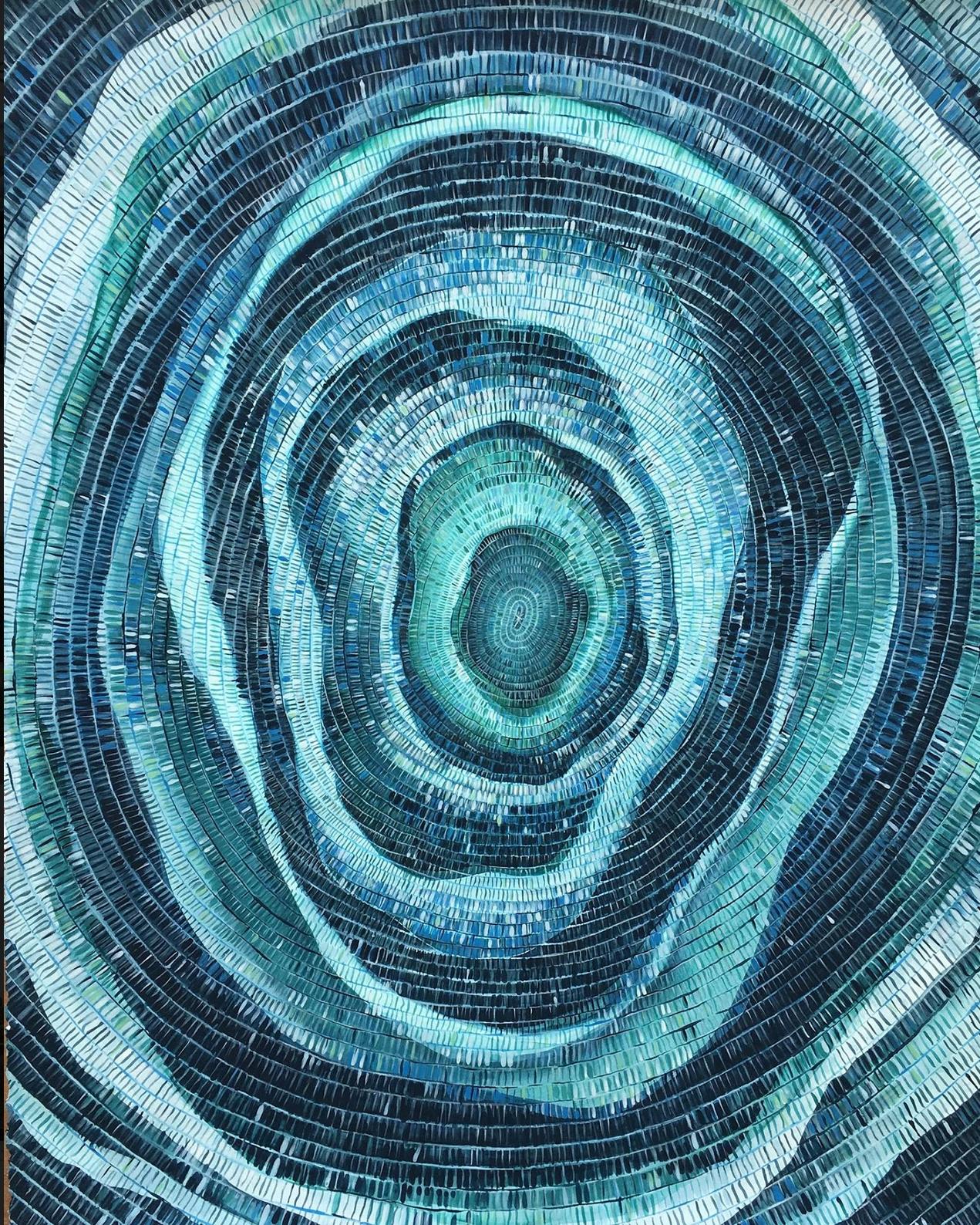 Nature's fingerprints gracing gallery walls