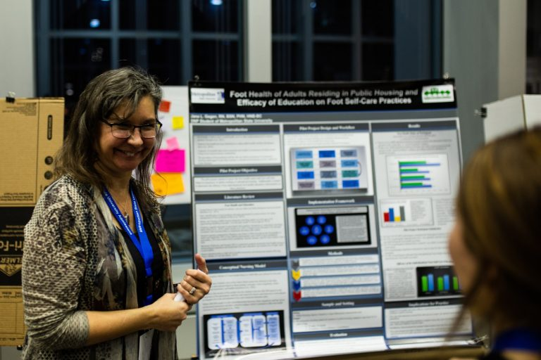 Students pour passion into posters at annual research conference