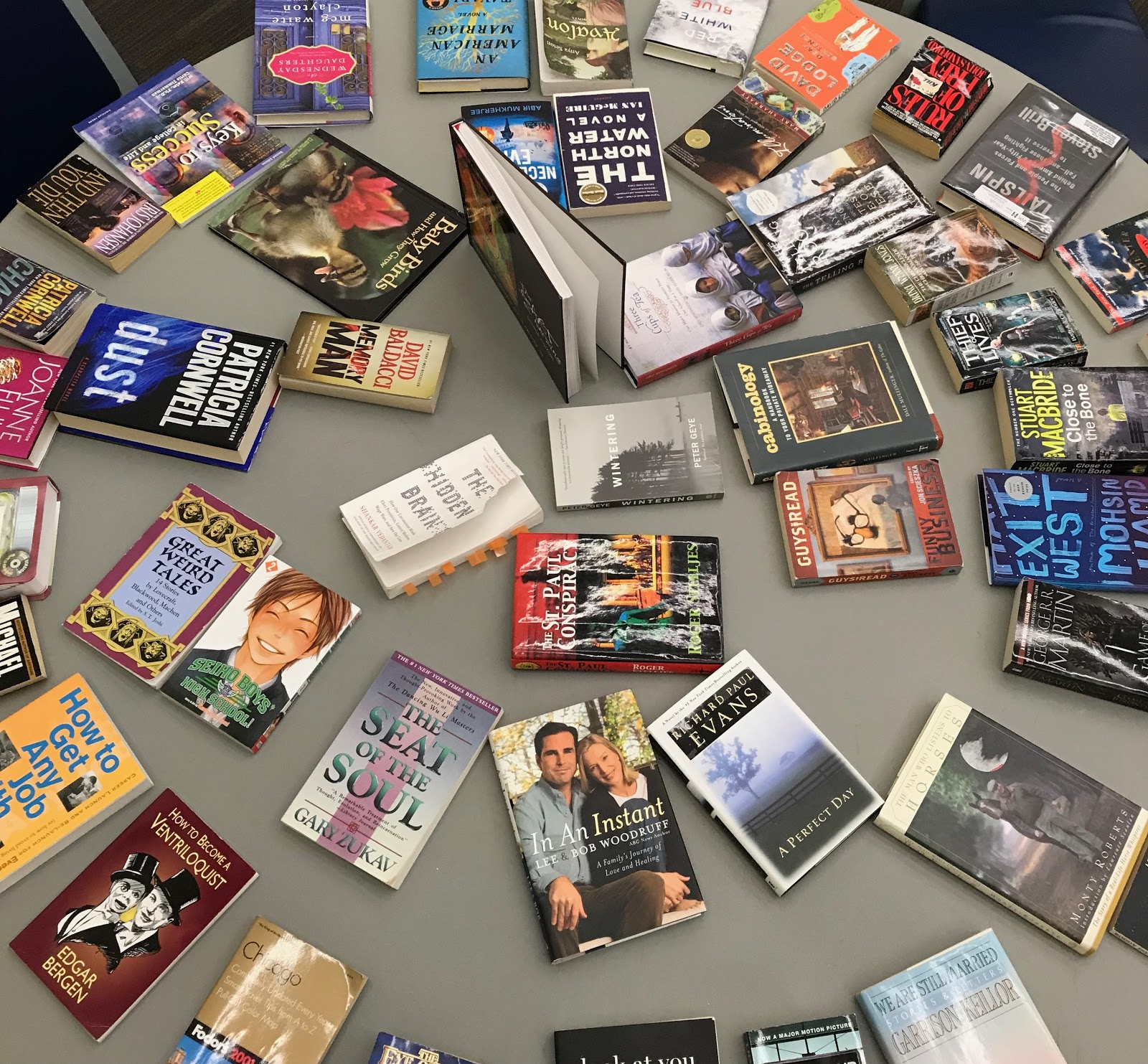 Book swap turns pages and opens minds