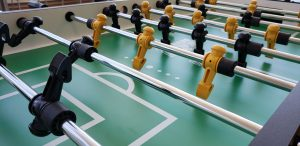 Game tables serve up fun in the Student Center