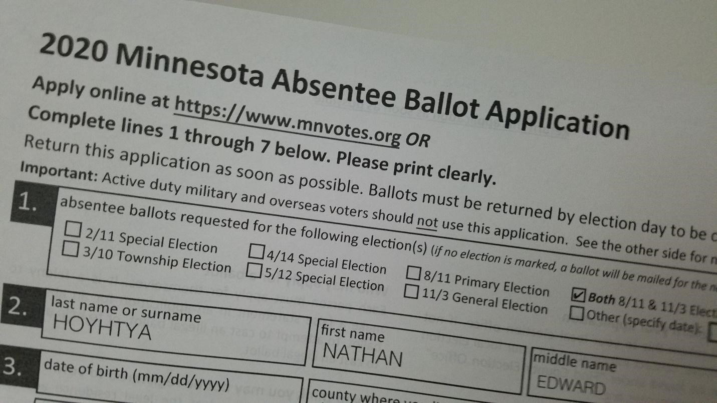 OPINION: How can Minnesotans vote when COVID-19 threatens 2020 election safety and integrity?